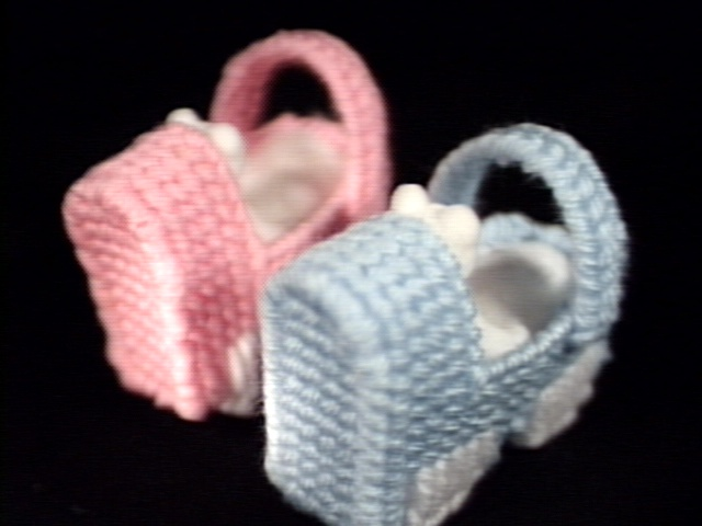 Baby Carriage Gift Baskets