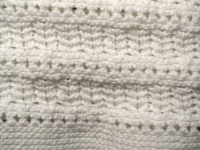 knitted pattern 1