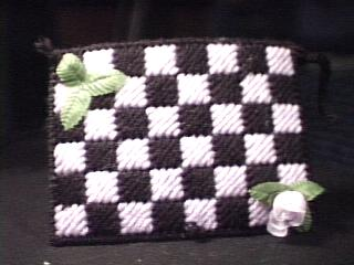 Checkerboard Tissue Holder