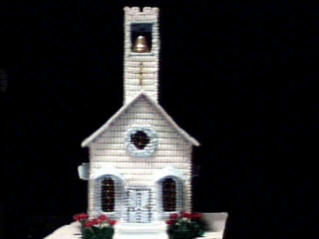 Church blue front