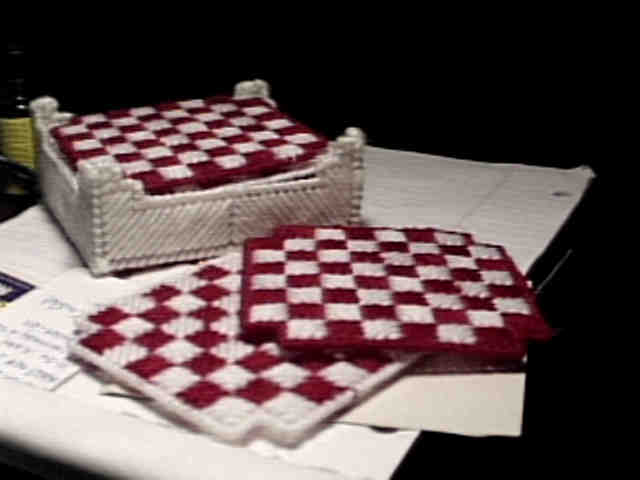 Checkerboard Squares on display