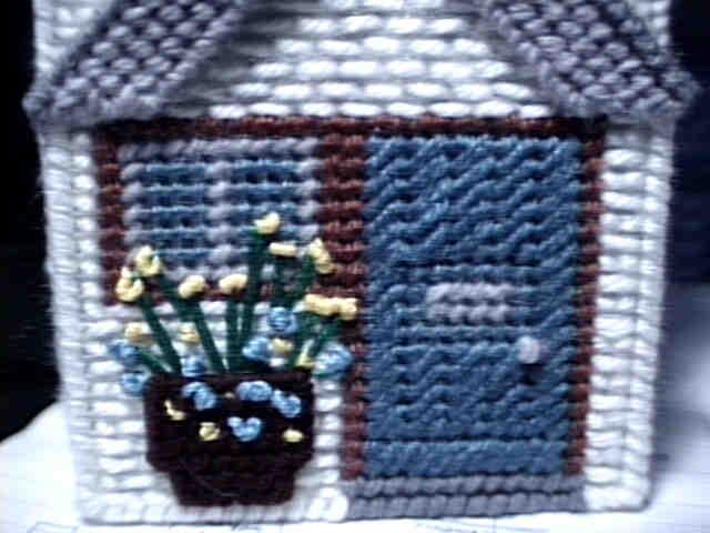Country Cottage front door