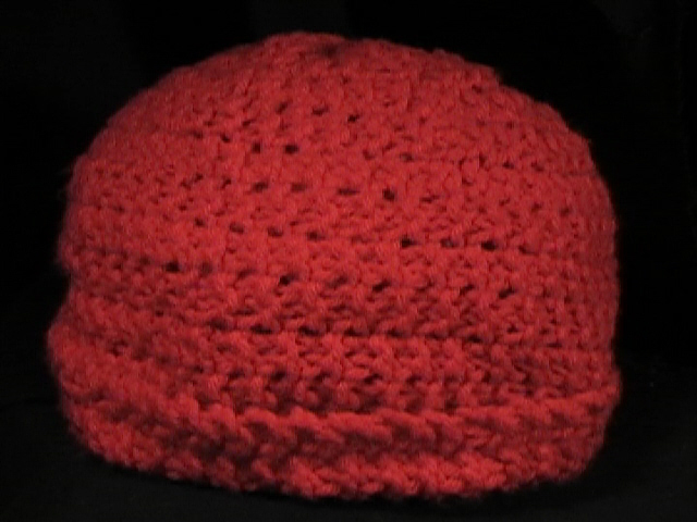Crochet Hat Red