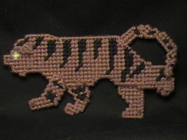 Tiger Door Magnet