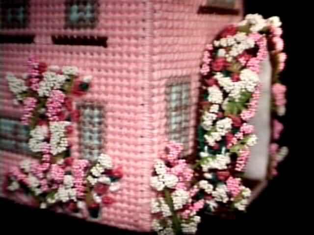 Cottage front trellis