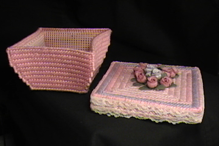 Floral box & top side