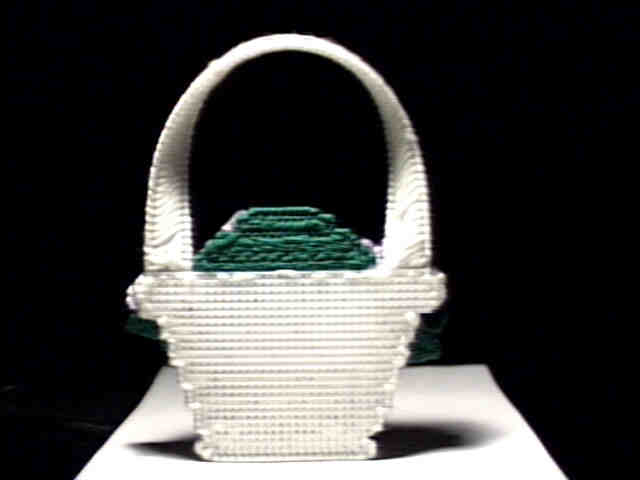 Flower basket back