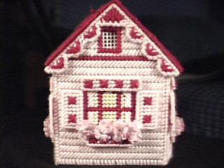 Cottage in pink back