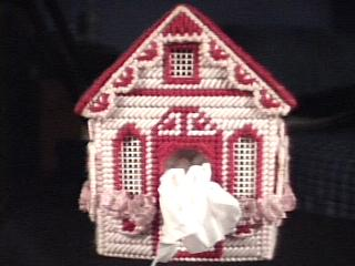Cottage in pink front