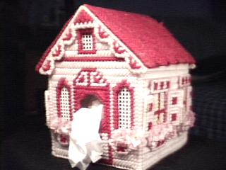 Forest Cottage In Pink