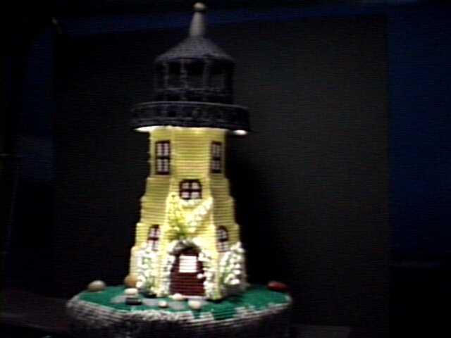 Lighthouse Display Piece