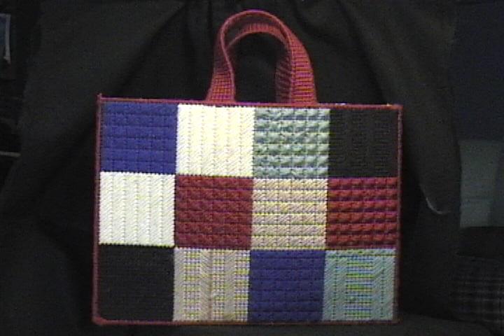 Patchwork Stitch Totebag