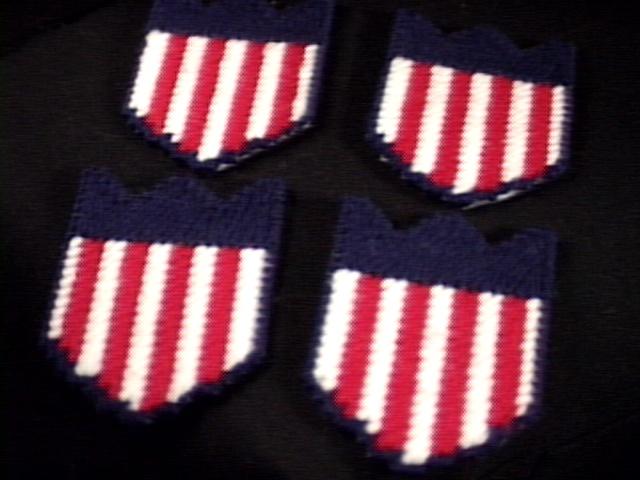 Patriotic Coasters