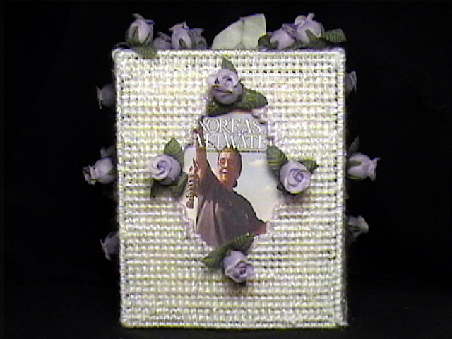 Picture Holder Tissue Box Cover