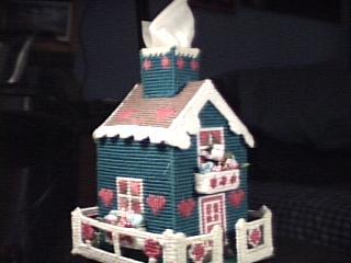 Pink Hearts Cottage front left