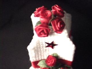 red Rose Fragrance Cover top