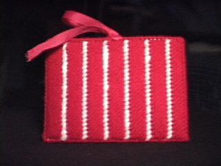 Redd Rose Tissue Holder back