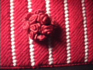 Red Rose Tissue Holder rose