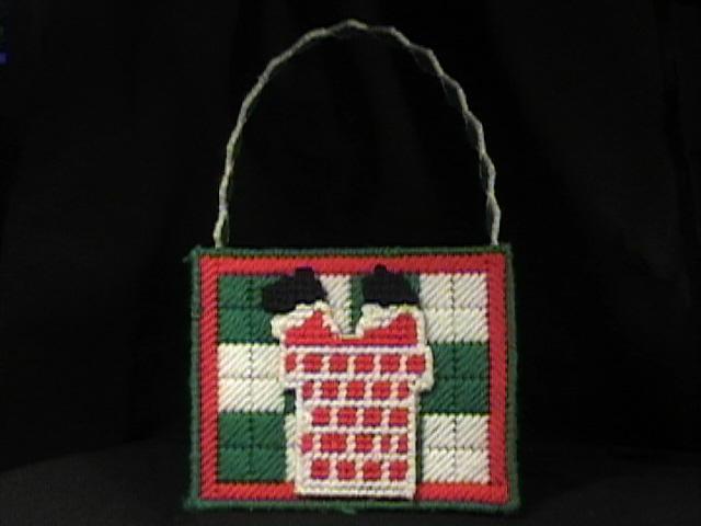 Santa's Basket Back