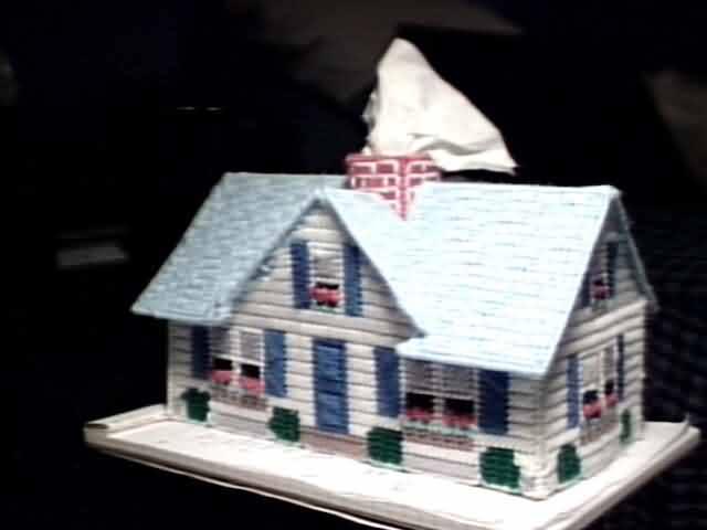 Windowbox cottage front left