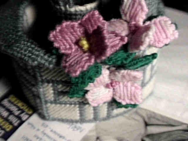 Well side flowers
