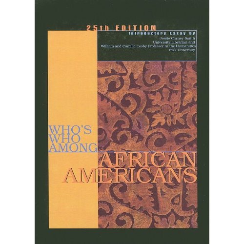 Who's Who Among African Americans Cover